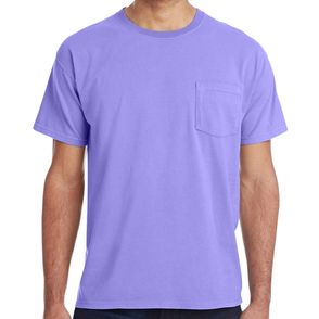 Hanes ComfortWash 100% Cotton Pocket T-Shirt