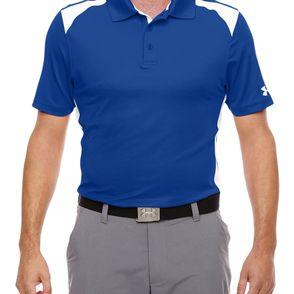 Under Armour Men's Team Colorblock Polo Shirt
