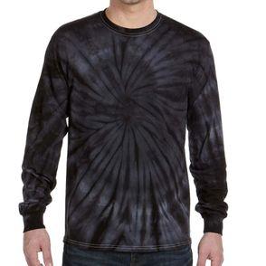 Cotton Long Sleeve Tie-Dye Shirt