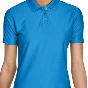 UltraClub Women's Cool & Dry Elite Performance Polo Shirt
