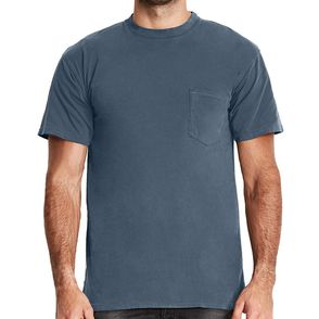 Next Level Inspired Dye Pocket T-Shirt