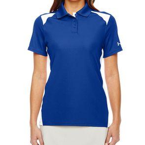 Under Armour Women's Team Colorblock Polo Shirt