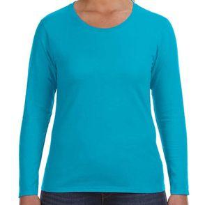 Anvil Women's Lightweight Long Sleeve Shirt