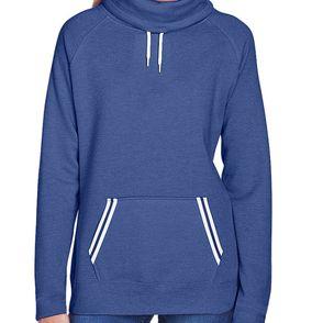J America Women's Relay Cowl Neck Sweatshirt