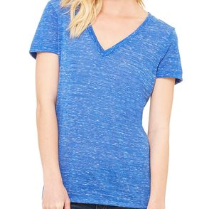 Bella Canvas Women's Deep V-Neck T-Shirt