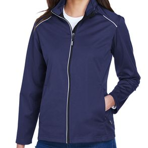 Core 365 Women's Techno Lite Three-Layer Knit Tech Zip Up Jacket