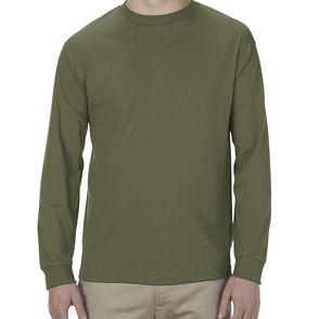 Alstyle 100%Cotton Long Sleeve Shirt