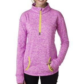 J America Women's Cosmic Quarter-Zip Pullover