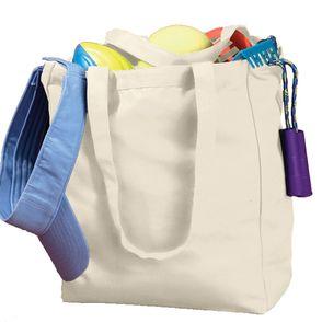 BAGedge 12 oz. Canvas Book Tote Bag