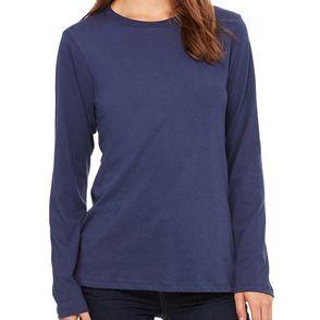 Bella + Canvas Women's Relaxed Jersey Long-Sleeve Shirt