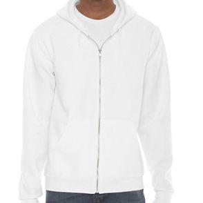 American Apparel Unisex Flex Fleece Zip Up Hoodie