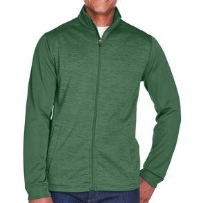 Devon & Jones Newbury Colorblock Fleece Zip Up Jacket