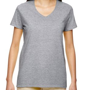 Gildan Heavy Cotton Women's V-Neck T-Shirt