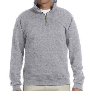 Jerzees Nublend Fleece Quarter Zip Pullover
