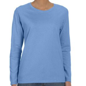 Gildan Heavy Cotton Women's Long-Sleeve Shirt