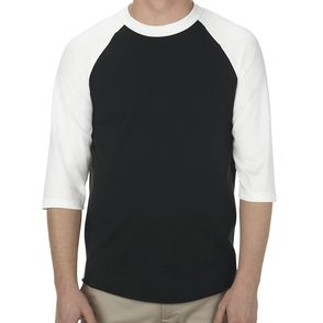 Alstyle 6.0 oz., 100% Cotton 3/4 Raglan T-Shirt