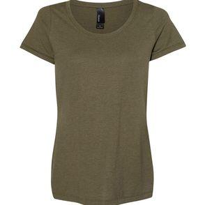 Hanes Women's Triblend Scoop T-Shirt