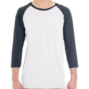 Jerzees 4.5 oz. Tri-Blend Raglan Baseball Shirt