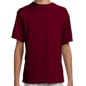 A4 Kids Short Sleeve Moisture Wicking Shirt