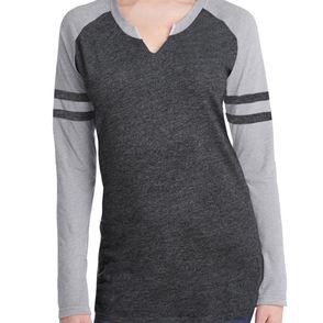 LAT Women's Gameday Mash-Up Jersey Long Sleeve Shirt