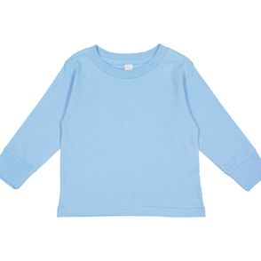 Rabbit Skins Long Sleeve Kids Shirt