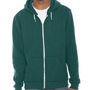 American Apparel Fleece Zip Up Hoodie