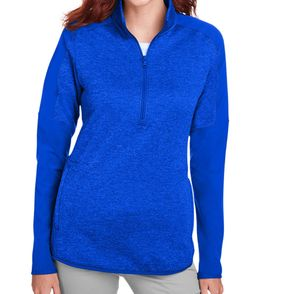 Under Armour Women's Qualifier Hybrid Corporate Quarter-Zip Pullover