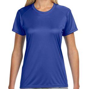 A4 Women's Short-Sleeve Moisture Wicking Shirt