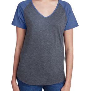 Anvil Women's Tri-Blend Raglan T-Shirt