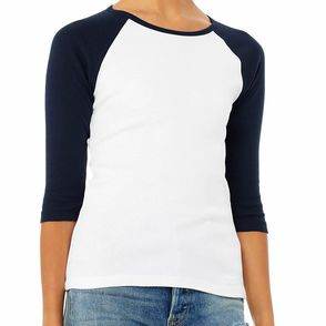 Bella + Canvas Women's Baby Rib Raglan T-Shirt