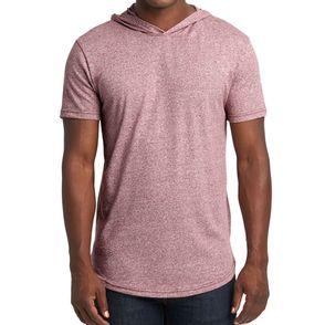 Next Level Unisex Mock Twist Hooded T-Shirt