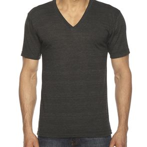 American Apparel Unisex Triblend V-Neck T-Shirt