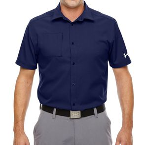 Under Armour Men's Ultimate Short Sleeve Button Down Shirt