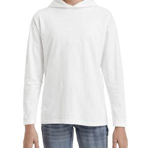 Anvil Kids Long Sleeve HoodieT-Shirt