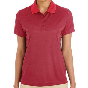 Core 365 Women's Express Microstripe Performance Pique Polo Shirt