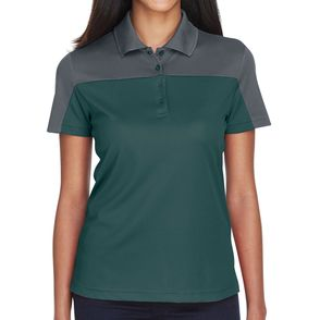 Core 365 Women's Balance Colorblock Performance Pique Polo Shirt