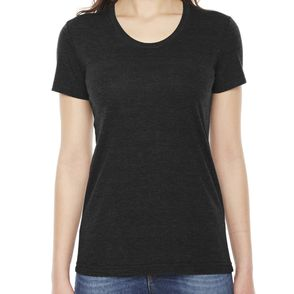American Apparel Women's Triblend Track T-Shirt
