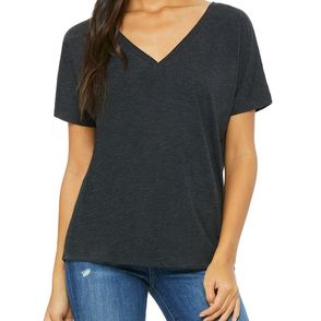 Bella + Canvas Women's Slouchy V-Neck T-Shirt