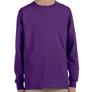Gildan Kids Ultra Cotton Long Sleeve Shirt