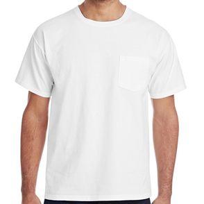 Hanes ComfortWash 100% Cotton Pocket T-Shirt