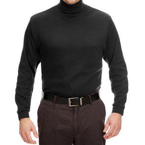 UltraClub Egyptian Cotton Long Sleeve Turtleneck