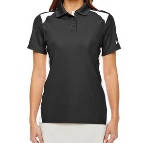 Under Armour Women's Team Colorblock Polo Shirt