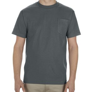 Alstyle 100% Cotton Pocket T-Shirt