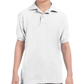 Hanes EcoSmart® Kid's Jersey Polo