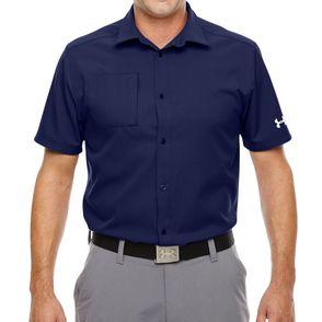 Under Armour Men's Ultimate Short Sleeve Button DownShirt