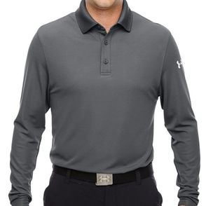 Under Armour Men's Performance Long Sleeve Polo Shirt