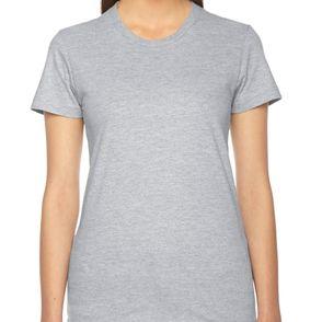 American Apparel Women's Fine Jersey T-Shirt