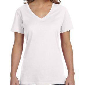 Anvil Women's Featherweight V-Neck T-Shirt