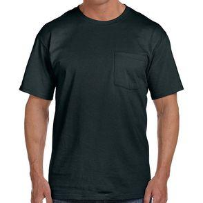 Fruit of the Loom Short Sleeve Pocket T-Shirt