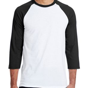 Hanes 4.5 oz., Poly-Cotton X-Temp® Baseball T-Shirt